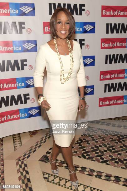 Gayle King attends The International Women's Media Foundation's 28th Annual Courage In Journalism Awards Ceremony Arrivals at Cipriani 42nd Street on...