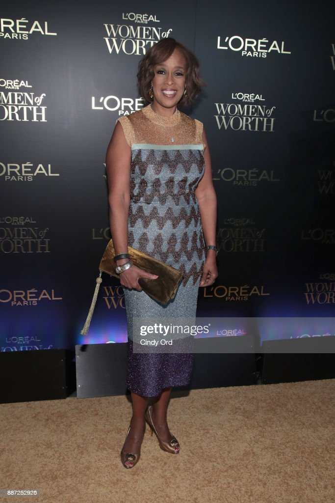 Gayle King attends the L'Oreal Paris Women of Worth Celebration 2017 on December 6, 2017 in New York City.