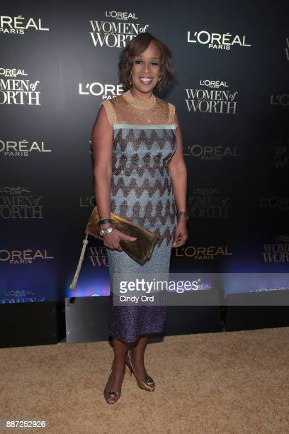 Gayle King attends the L'Oreal Paris Women of Worth Celebration 2017 on December 6 2017 in New York City