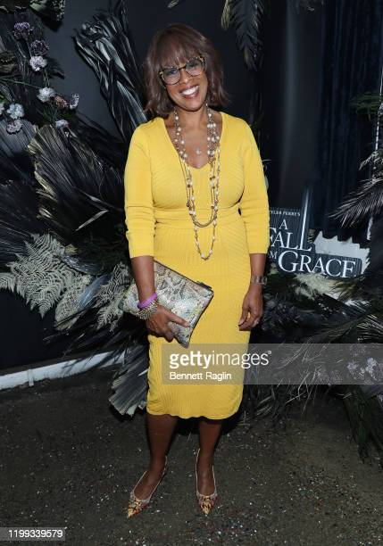Gayle King attends the Netflix Premiere for Tyler Perry's A Fall From Grace at Metrograph on January 13 2020 in New York City