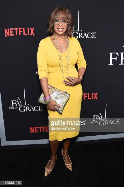 Gayle King attends the premiere of Tyler Perry's A Fall From Grace at Metrograph on January 13 2020 in New York City