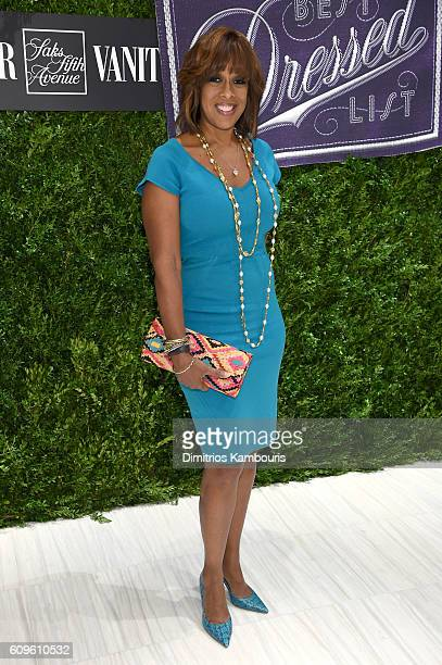 Gayle King attends the Saks Fifth Avenue Vanity Fair 2016 International Best Dressed List Celebration at Saks Fifth Avenue on September 21 2016 in...