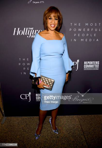 Gayle King attends the The Hollywood Reporter's 9th Annual Most Powerful People In Media at The Pool on April 11 2019 in New York City