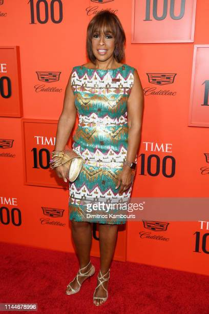 Gayle King attends the TIME 100 Gala Red Carpet at Jazz at Lincoln Center on April 23 2019 in New York City