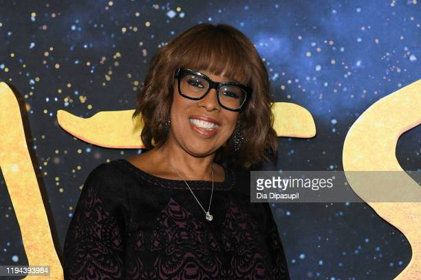 Gayle King attends the world premiere of Cats at Alice Tully Hall Lincoln Center on December 16 2019 in New York City
