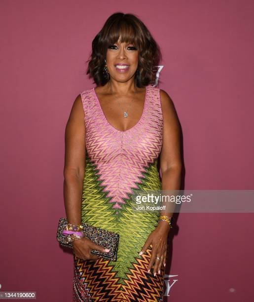 Gayle King attends Variety's Power Of Women at Wallis Annenberg Center for the Performing Arts on September 30, 2021 in Beverly Hills, California.