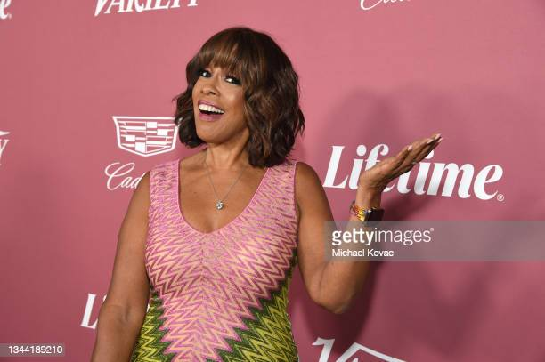 Gayle King attends Variety's Power of Women on September 30, 2021 in Los Angeles, California.