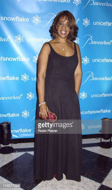 Gayle King during 2nd Annual UNICEF Snowflake Ball Arrivals at The Waldorf Astoria Hotel in New York City New York United States