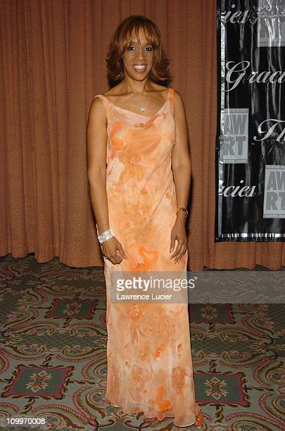 Gayle King during American Women in Radio Television 30th Annual Gracie Allen Awards at New York Marriot Marquis Hotel in New York City New York...