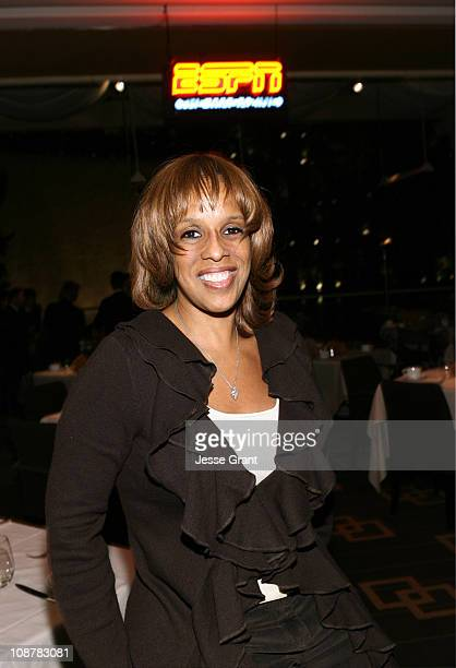 Gayle King during ESPN The Magazine Presents ESPN After Dark Chicken 'N' Waffles II at SW Steakhouse in Las Vegas Nevada United States