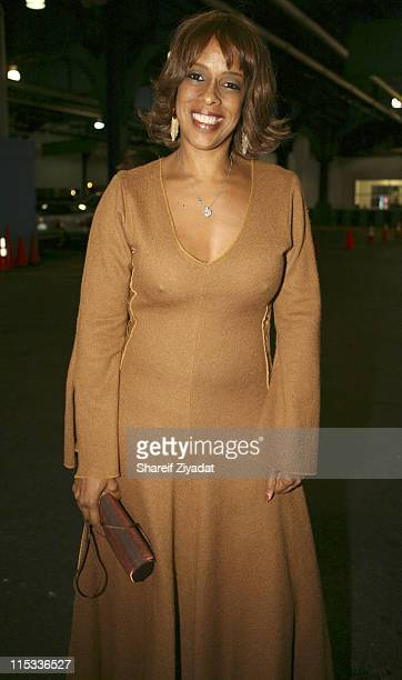 Gayle King during HipHop Summit Presents 3rd Annual Action Awards Arrivals at Chelsea Piers in New York City United States