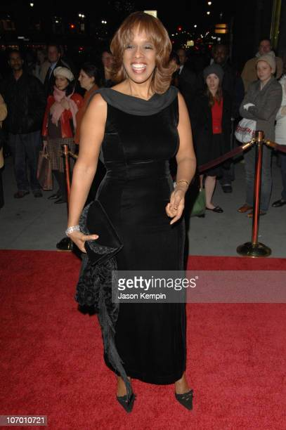 Gayle King during The Third Annual UNICEF Snowflake Ball - November 28, 2006 at Cipriani's - 42nd Street in New York City, New York, United States.