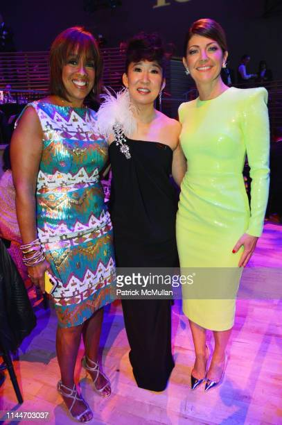 Gayle King Sandra Oh and Norah O'Donnell attend the Time 100 Gala 2019 at Jazz at Lincoln Center on April 23 2019 in New York City