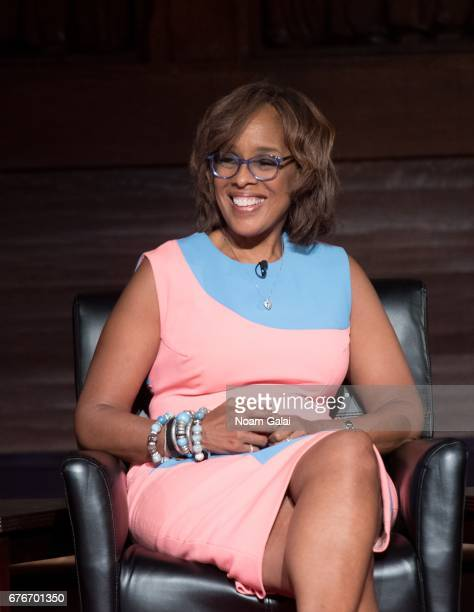 Gayle King speaks onstage during Times Talks in Conversation Sheila Nevins with Gayle King Jenna Lyons and Janet Mock at New York Society for Ethical...