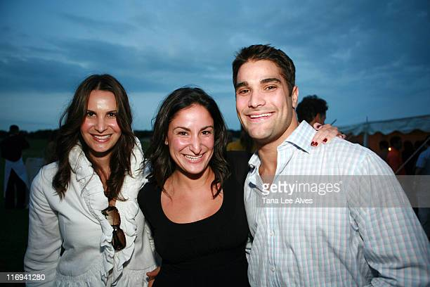 Gayle Perry Lauren Perry and Edmond Perry during Hamptons Magazine's Cindi Cook and Cristina Cuomo Host Ruinart Champaign Experience with Kathy...