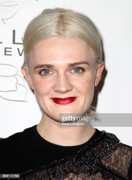 Gayle Rankin attends Entertainment Weekly's Screen Actors Guild Award Nominees Celebration sponsored by Maybelline New York at Chateau Marmont on...