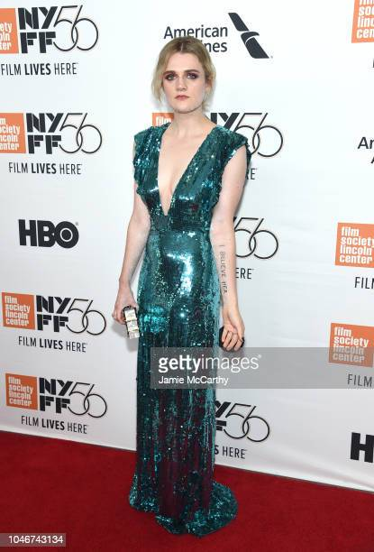 Gayle Rankin attends the 56th New York Film Festival Her Smell premiere at Alice Tully Hall Lincoln Center on September 29 2018 in New York City