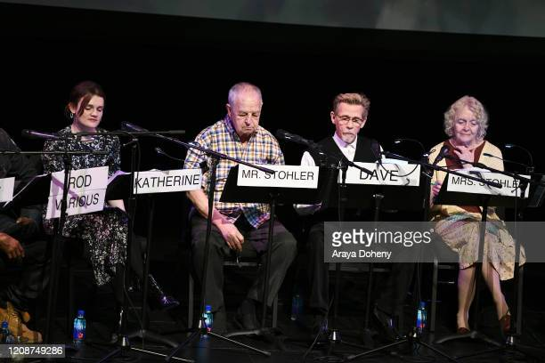 "Gayle Rankin, Paul Dooley, Dennis Christopher and K Callan at the Film Independent Screening Series Presents Live Read Of ""Breaking Away"" at Wallis..."