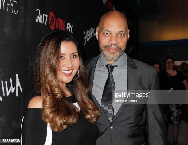 Gayle Ridley and John Ridley attend Showtime's 'Guerrilla' FYC Event at The WGA Theater on April 13 2017 in Beverly Hills California