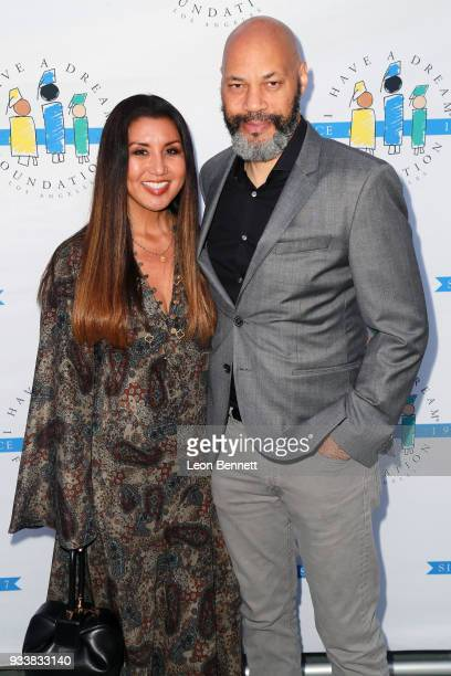 "Gayle Ridley and John Ridley attend the ""I Have A Dream"" Foundation's 5th Annual Los Angeles' Dreamer Dinner at Skirball Cultural Center on March 18,..."