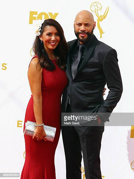 Gayle Ridley and writer/producer John Ridley attend the 67th Annual Primetime Emmy Awards at Microsoft Theater on September 20 2015 in Los Angeles...