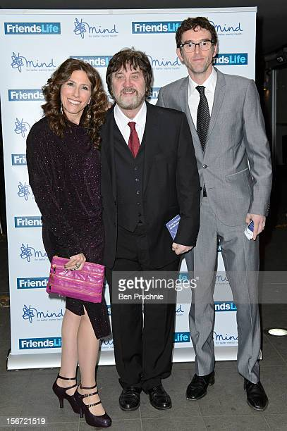 Gaynor Faye Steve Halliwell and Mark Charnock attend the Mind Mental Health Media Awards at BFI Southbank on November 19 2012 in London England