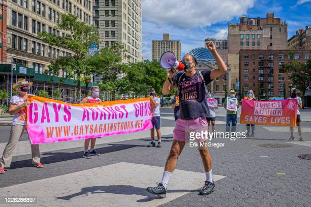 Gays, Against Guns organizer Jay W. Walker. Gays Against Guns , the direct action, gun violence prevention group formed by members of LGBTQ...