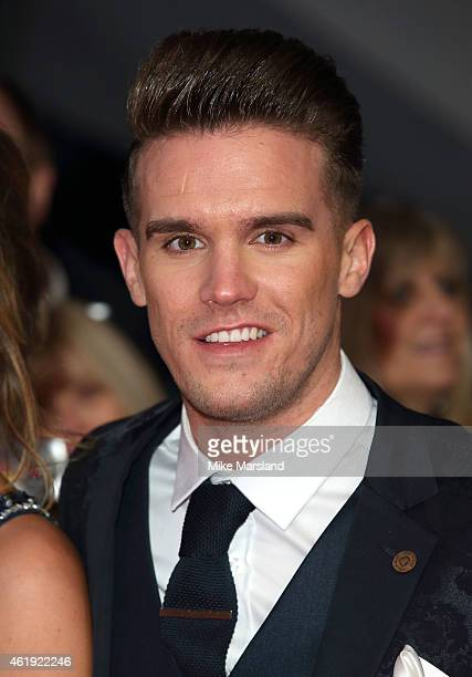 Gaz Beadle attends the National Television Awards at 02 Arena on January 21 2015 in London England