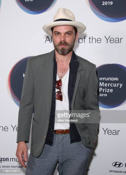 Gaz Coombes duing the 2019 Hyundai Mercury Prize Launch at Langham Hotel on July 25 2019 in London England