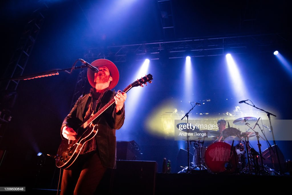 Supergrass Perform At O2 Academy, Leeds : News Photo