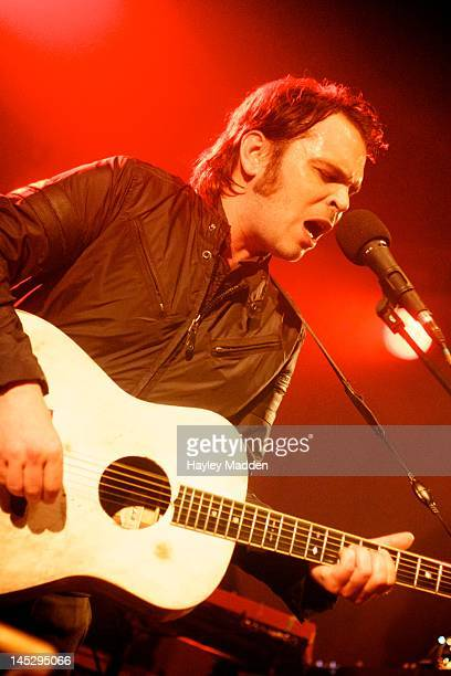 Gaz Coombes performs on stage at Bush Hall on May 25, 2012 in London, United Kingdom.