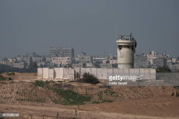gaza border with israel - military base stock pictures, royalty-free photos & images