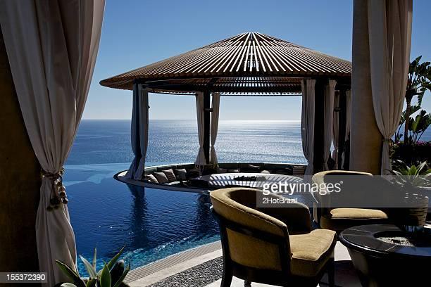 Gazebo at Luxury Resort