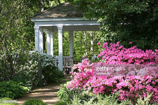 gazebo in springtime