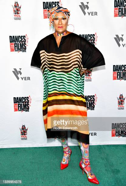 """Gazelle Paulo attends the Closing Night of Dances with Film Festival with premiere of """"Mister Sister"""" at TCL Chinese Theatre on September 12, 2021 in..."""