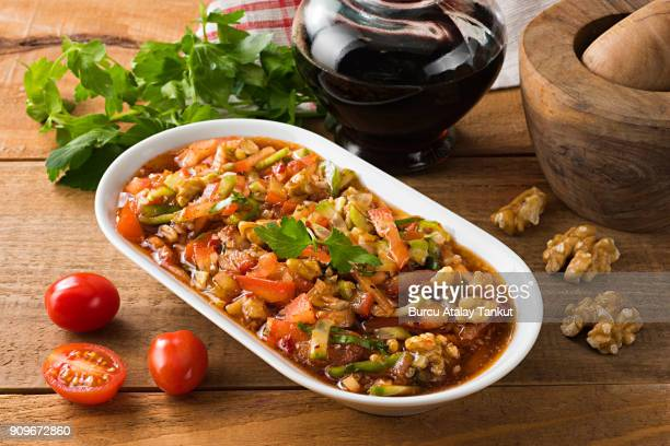 gazpacho salad - side salad stock pictures, royalty-free photos & images