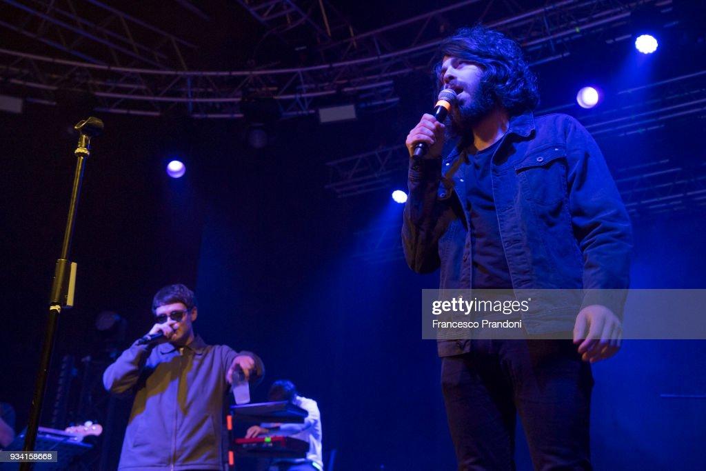 Gazzelle Performs In Milan : Foto di attualità