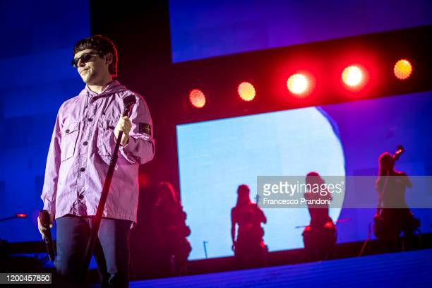 Gazzelle performs at Mediolanum Forum on January 18, 2020 in Milan, Italy.