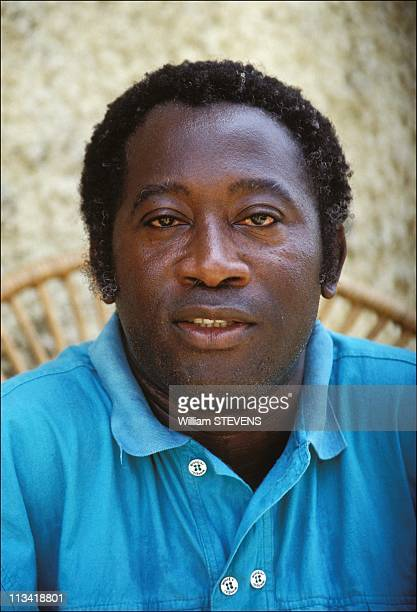 L Gbagbo SecGeneral The Popular Front Of Cote D'Ivoire On March 1St 1990 In Cote D'Ivoire