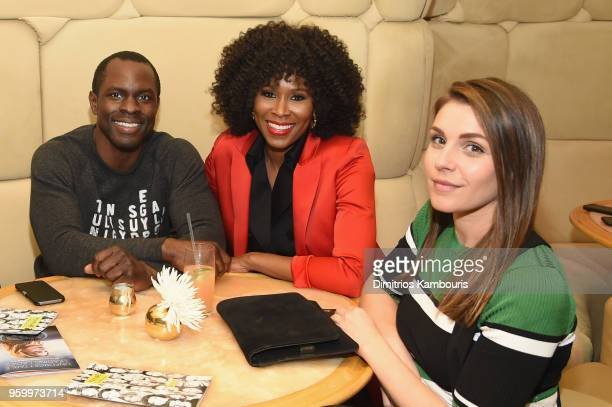 Gbenga Akinnagbe Sydelle Noel and Lili Mirojnick attend the Vulture Festival Presented By ATT Opening Night Party at The Top of The Standard on May...