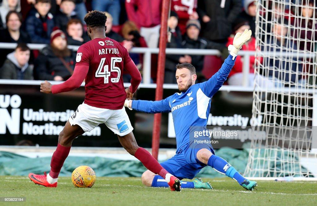 Northampton Town v Oxford United - Sky Bet League One : News Photo