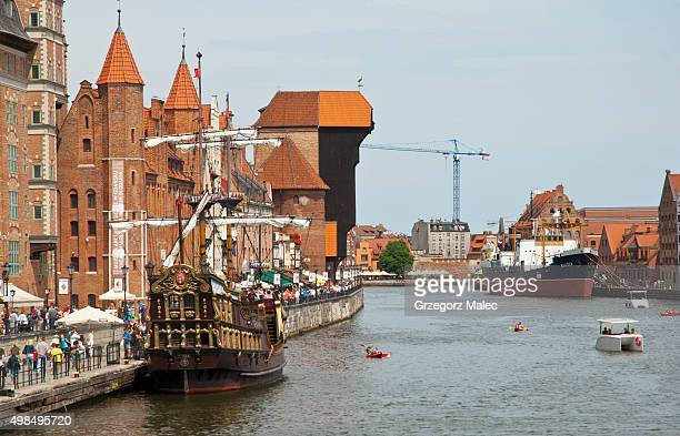 gdansk - motlawa river stock pictures, royalty-free photos & images