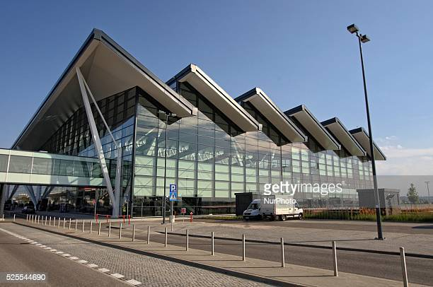 Gdansk Poland 1st September 2015 Former President of Poland Lech Walesa attends opening ceremony of the new arrivals part of T2 terminal at Gdansk...
