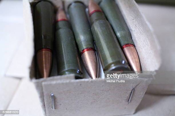 Gdansk Poland 20th Nov 2015 Pictured box of 700 pieces 762 x 39 Russian ammunnition 762x39 ammo is used mostly in AK47 rifles and based on this...
