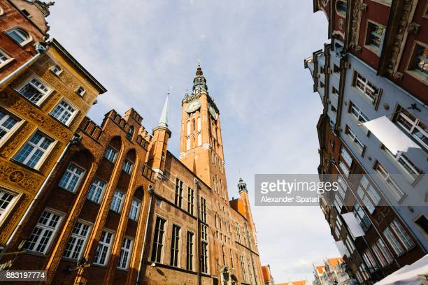 Gdansk Town Hall and Dluga Street (Long Street)