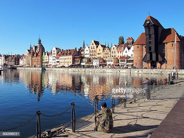 gdansk waterfront - pomorskie province stock photos and pictures