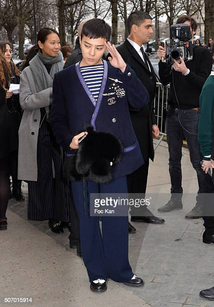 Dragon attends the Chanel Haute Couture Spring Summer 2016 show as part of Paris Fashion Week on January 26 2016 in Paris France