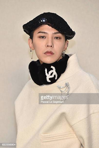Dragon attends the Chanel Haute Couture Spring Summer 2017 show as part of Paris Fashion Week on January 24 2017 in Paris France