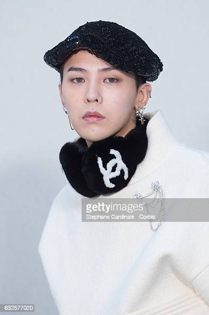 Dragon attends the Chanel Haute Couture Spring Summer 2017 show as part of Paris Fashion Week on January 24, 2017 in Paris, France.
