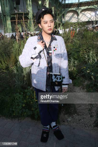 Dragon attends the Chanel Haute Couture Spring/Summer 2020 show as part of Paris Fashion Week on January 21 2020 in Paris France